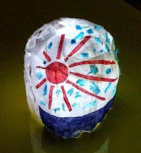 本年度の授業のお礼と冬季講習のお知らせ デジタル絵画展予告 ランプの課題